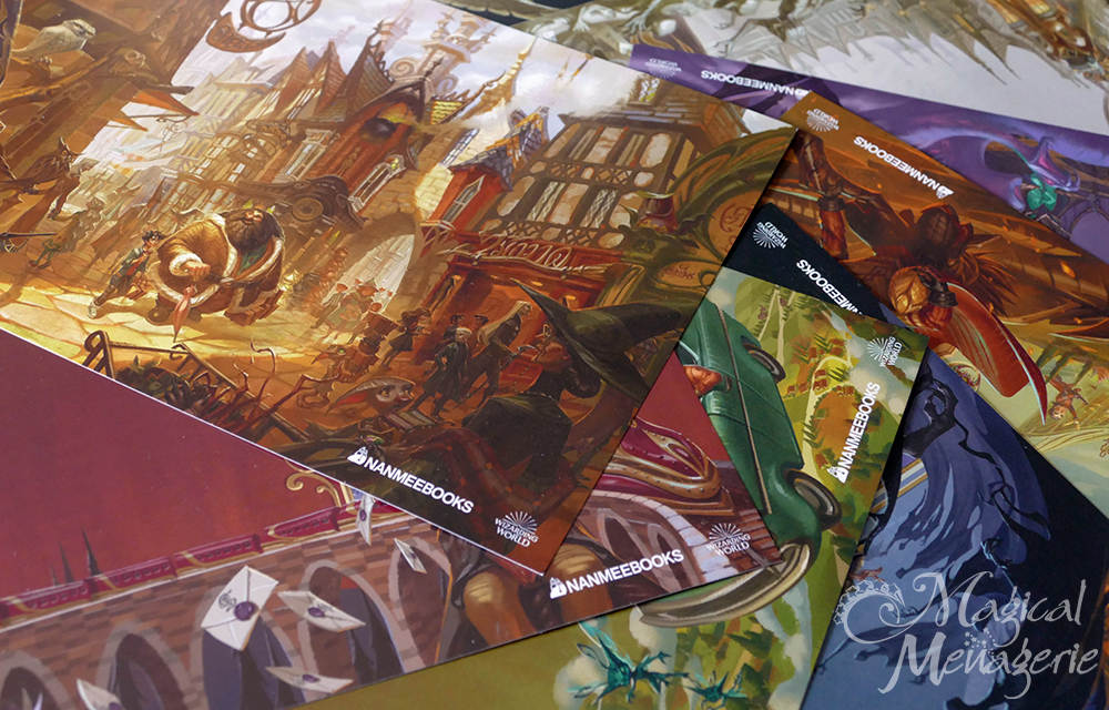Harry Potter Thai 20th Anniversary Edition - Illustrated by Arch Apolar